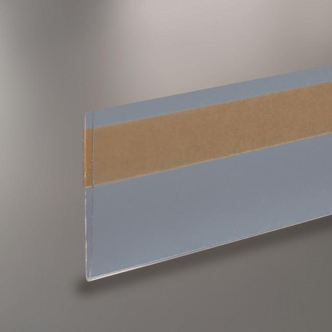 profil porte tiquette papier pli adh sif antireflet. Black Bedroom Furniture Sets. Home Design Ideas