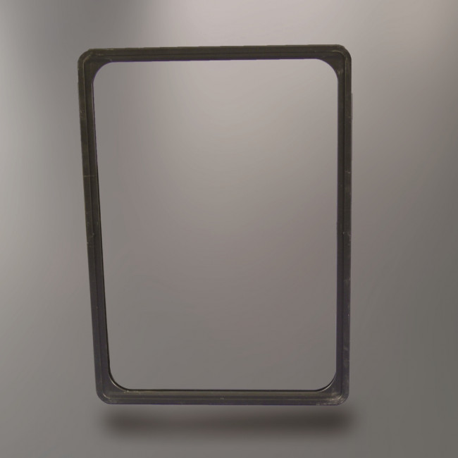 cadre plastique noir format a4. Black Bedroom Furniture Sets. Home Design Ideas