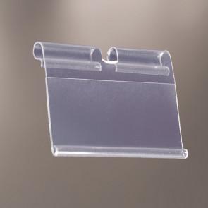Porte-étiquette sur broche métal