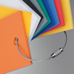 Anneau bracelet acier 150 mm